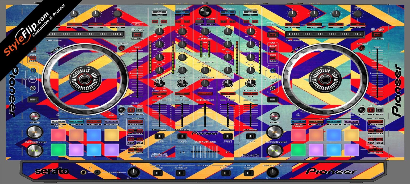 Jigsaw Pioneer DDJ-SX2
