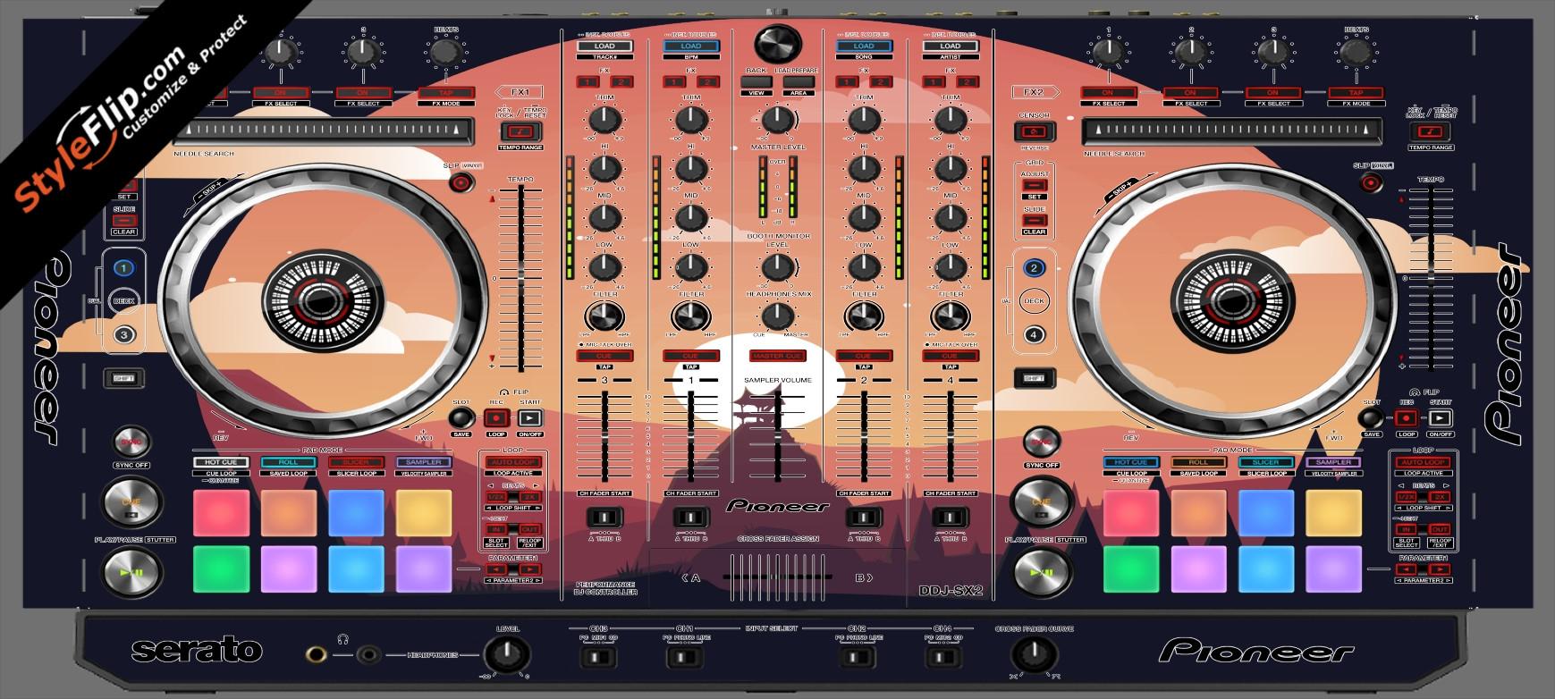 Nightfall  Pioneer DDJ-SX2