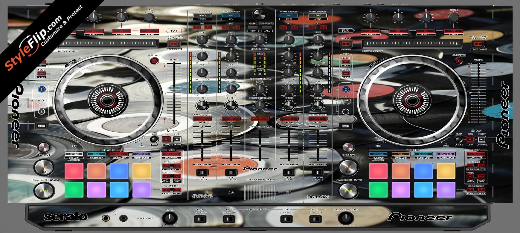 Wax On  Pioneer DDJ-SX2