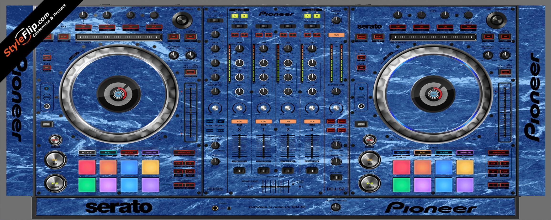 Blue Marble  Pioneer DDJ-SZ