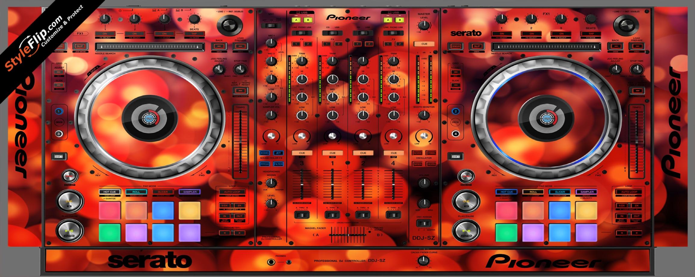 Firefly Pioneer DDJ-SZ