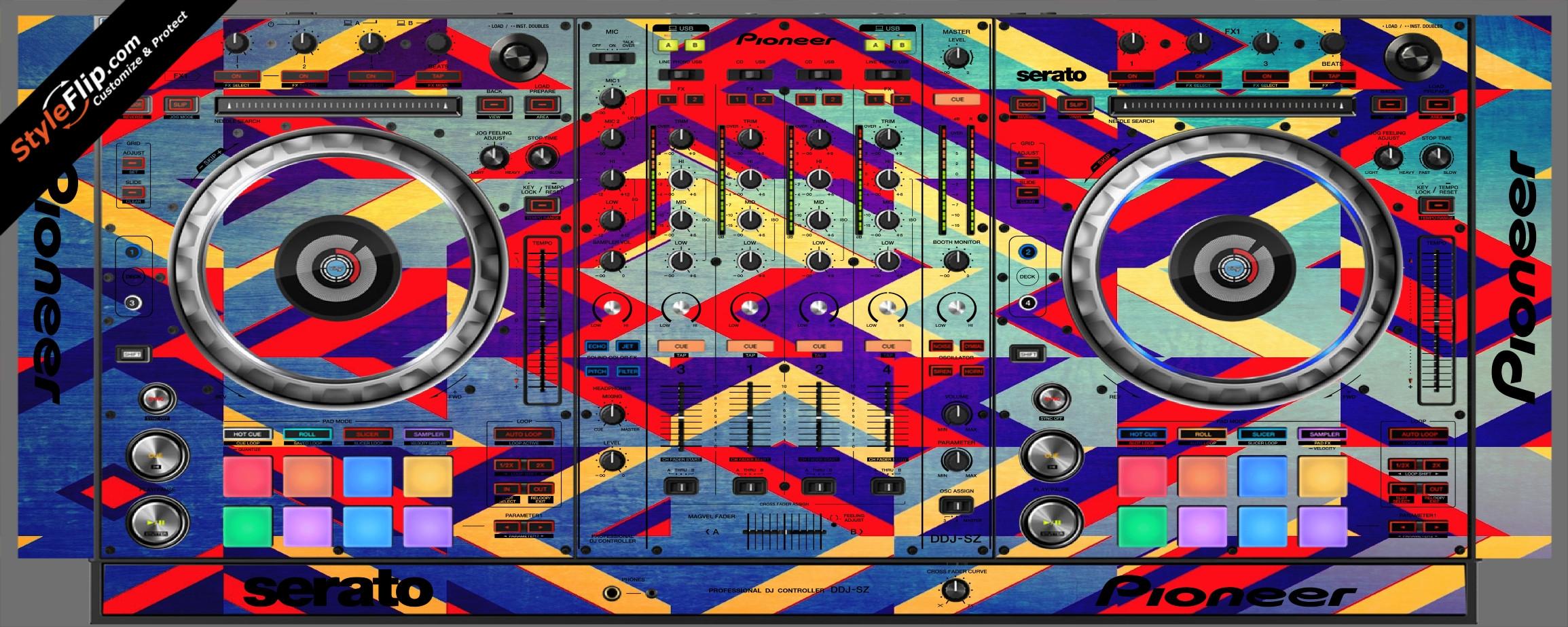 Jigsaw Pioneer DDJ-SZ