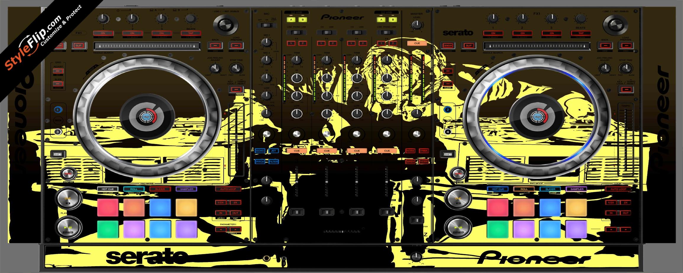 Scratch Master Pioneer DDJ-SZ