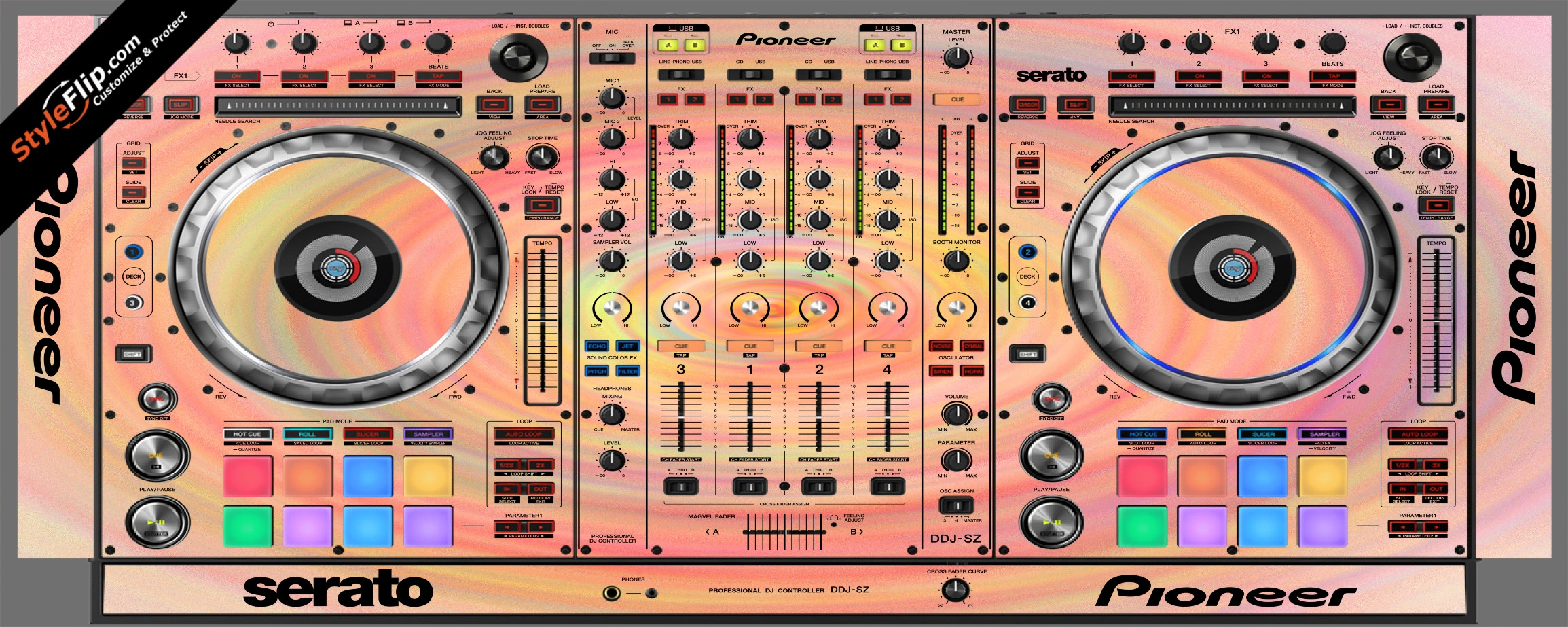 Spin Pioneer DDJ-SZ