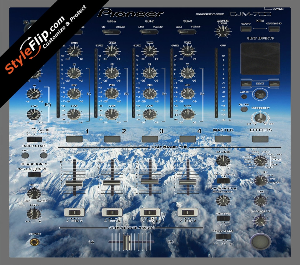 Above The Clouds  Pioneer DJM 700