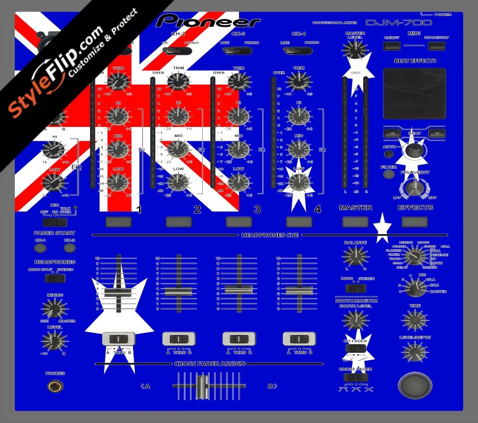 Australian Flag  Pioneer DJM 700