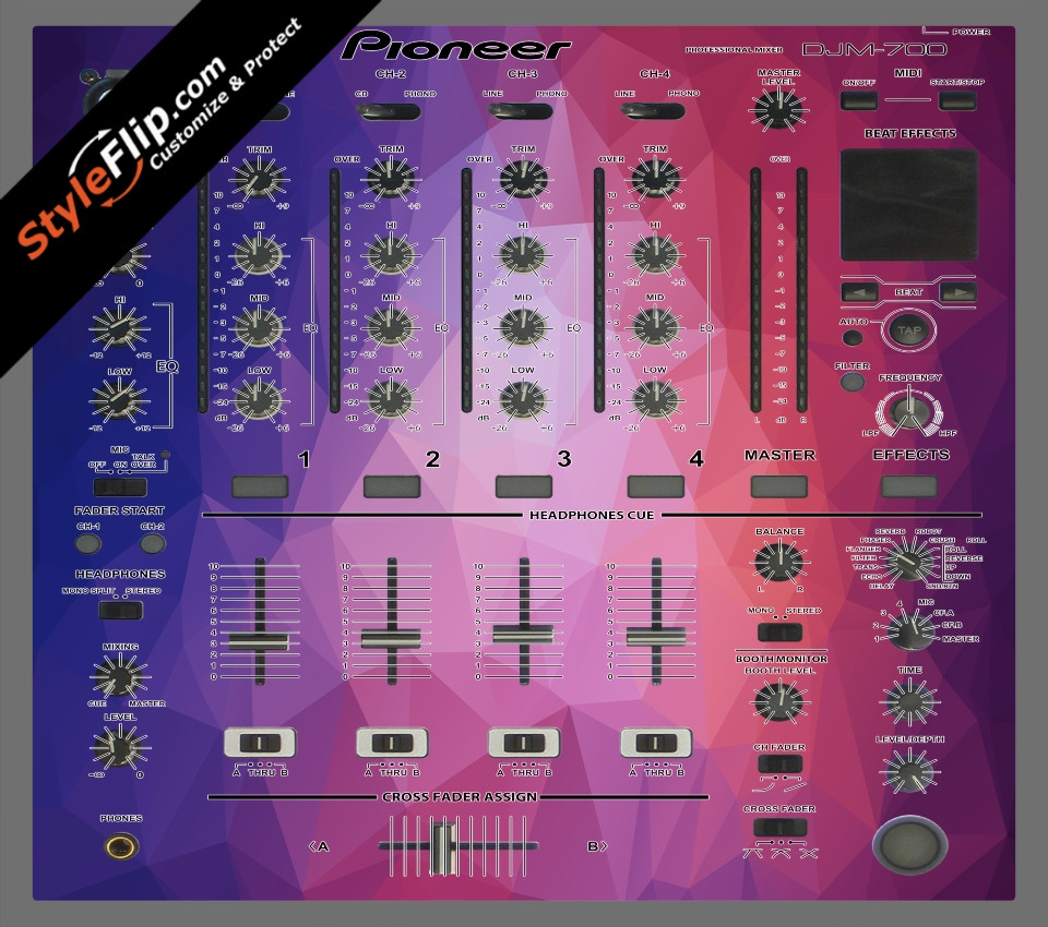 Blue Dreams Pioneer DJM 700
