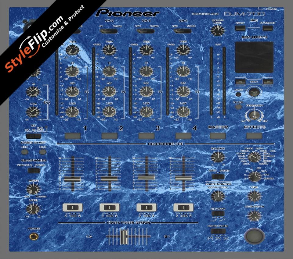 Blue Marble  Pioneer DJM 700