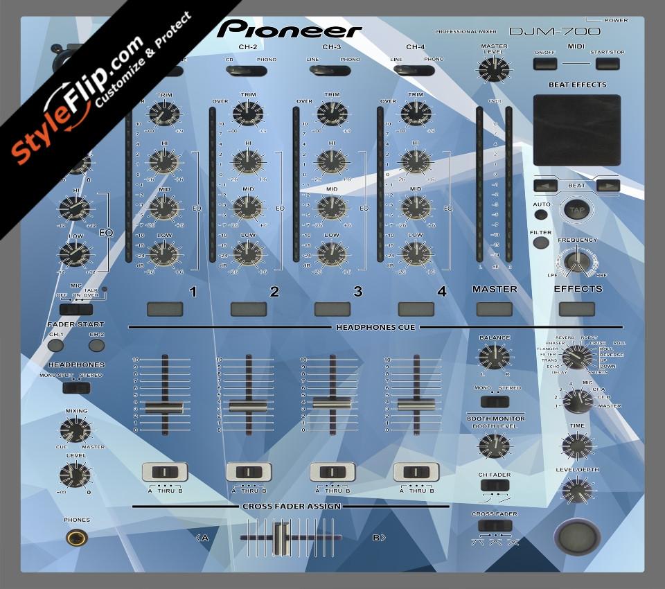 Crystal Pioneer DJM 700