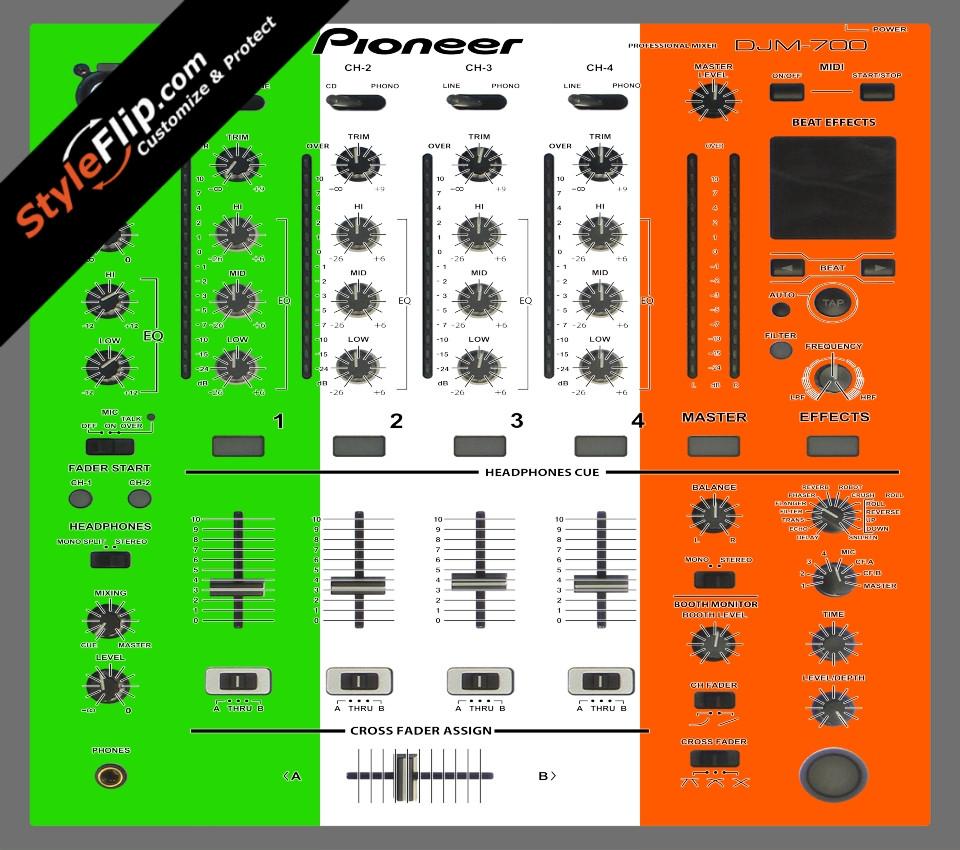 Irish Flag  Pioneer DJM 700