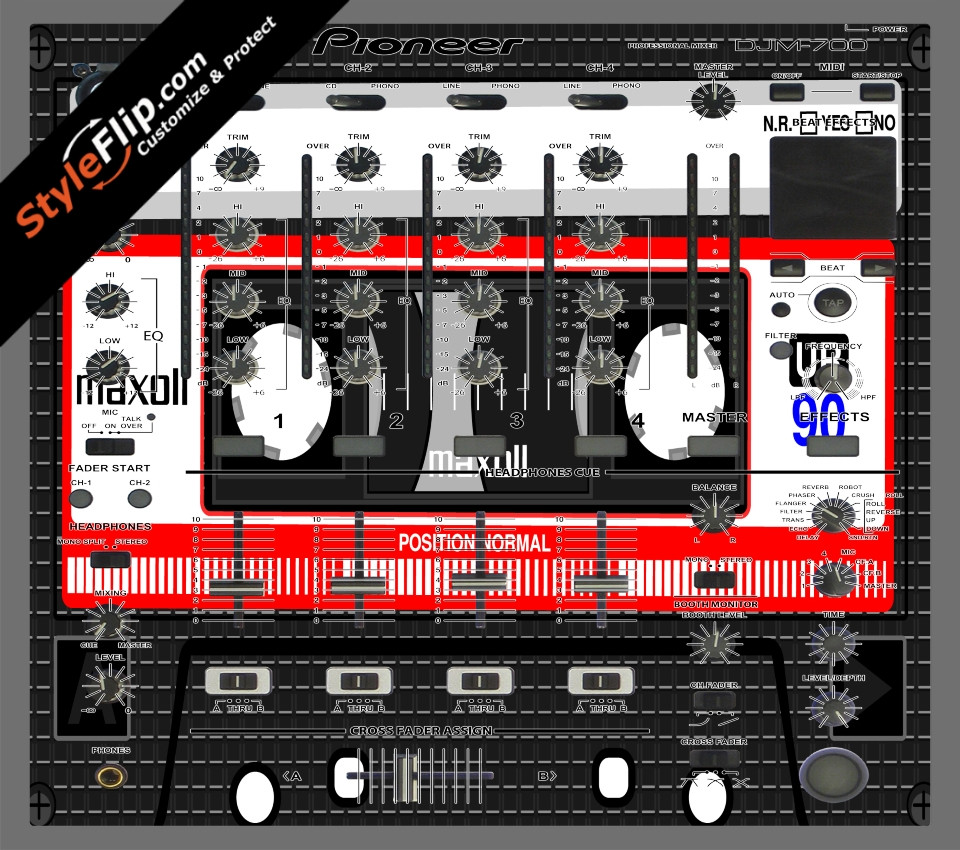 Mixtape Pioneer DJM 700