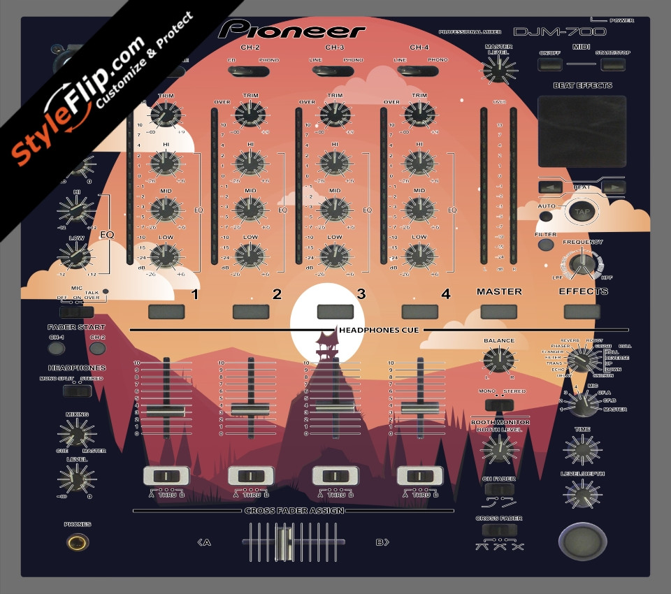 Nightfall  Pioneer DJM 700