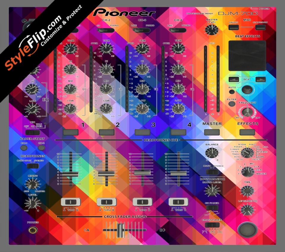 Pixalated Pioneer DJM 700