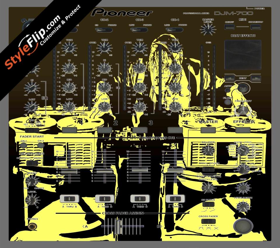 Scratch Master Pioneer DJM 700