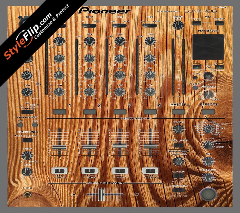 Tree Rings  Pioneer DJM 700