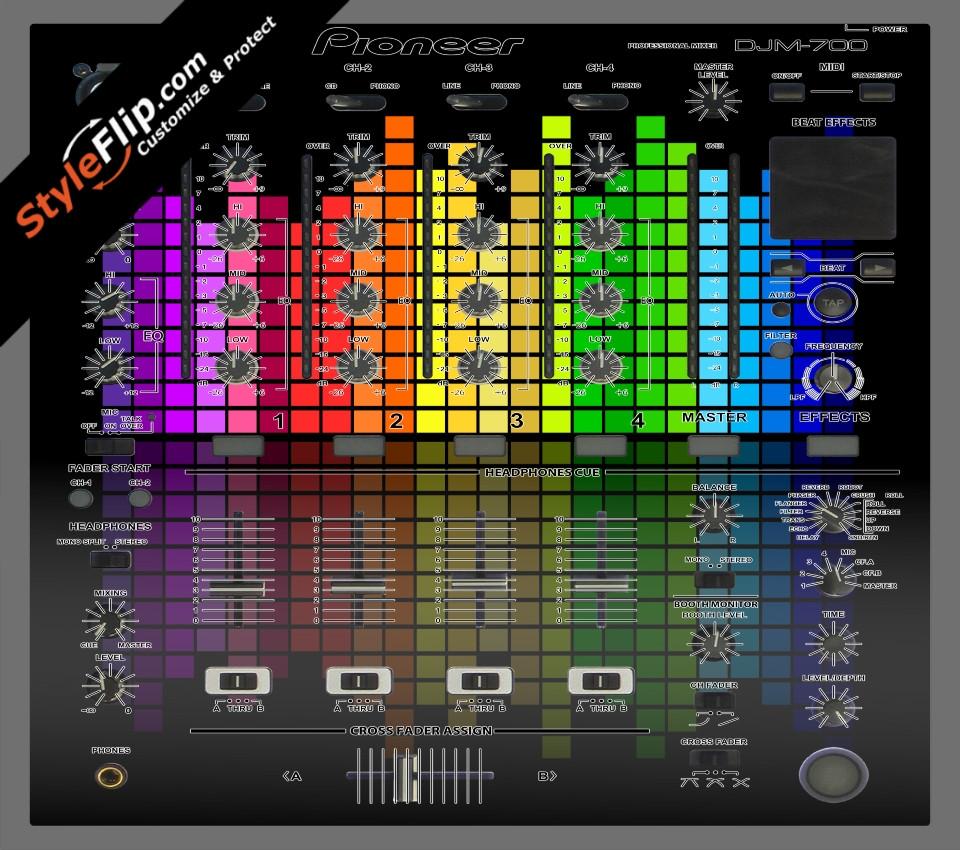 Turn Up  Pioneer DJM 700