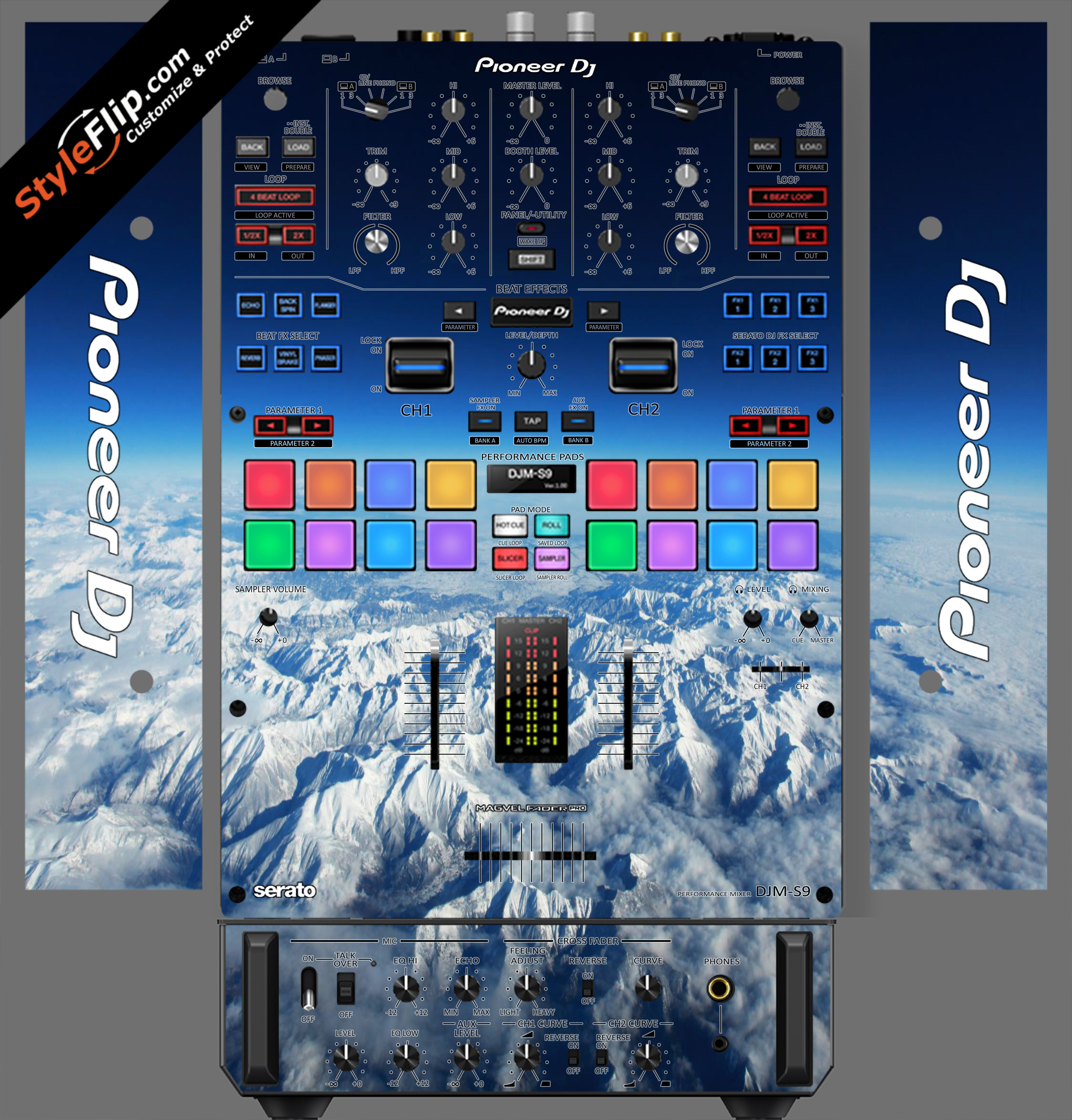 Above The Clouds  Pioneer DJM S9