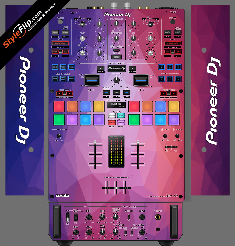 Blue Dreams Pioneer DJM S9
