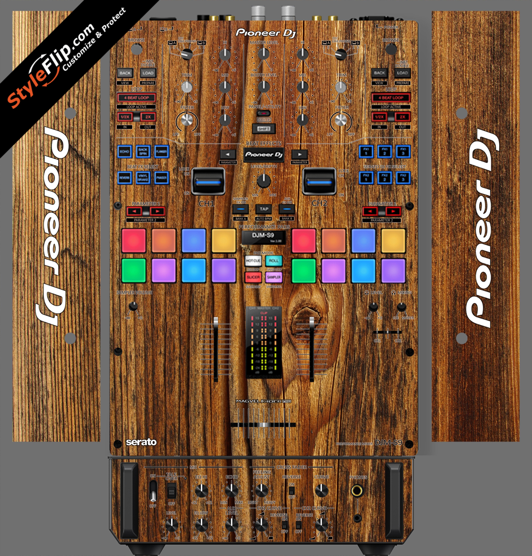 Classic Wood  Pioneer DJM S9