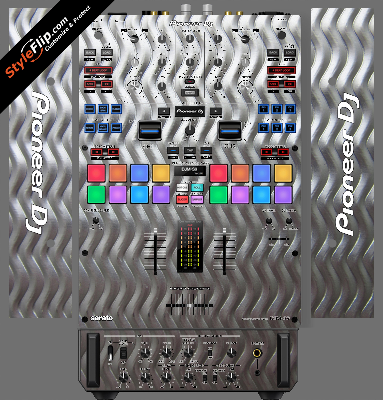 Embossed Pioneer DJM S9