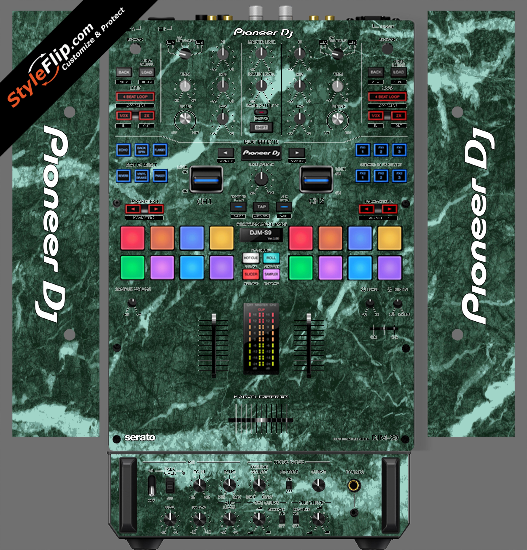 Green Marble Pioneer DJM S9