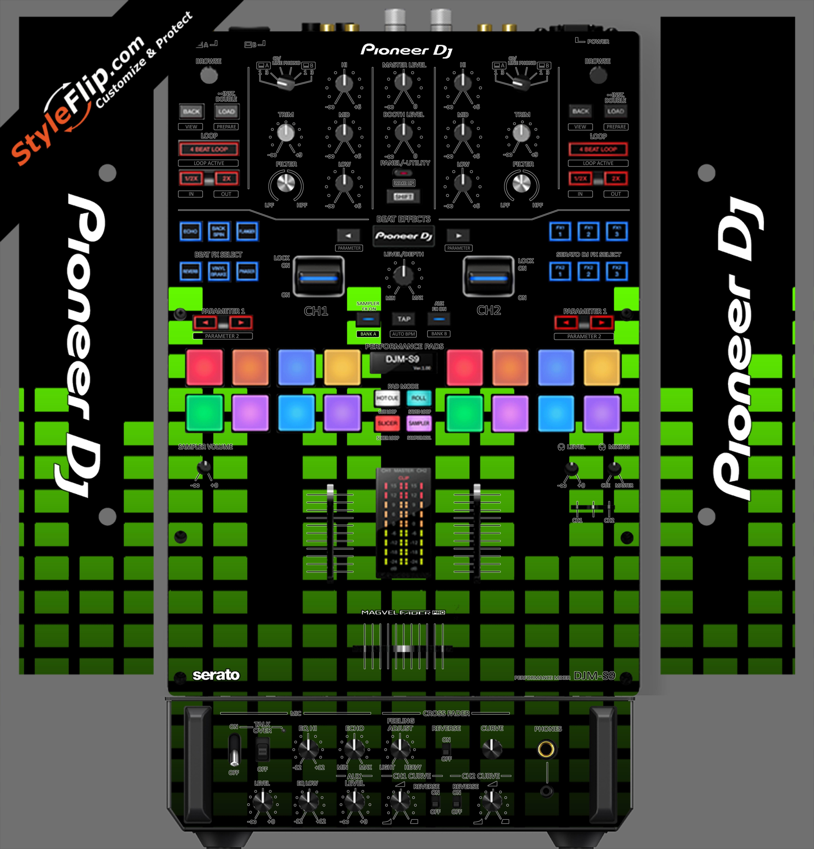 Lime Equalizer Pioneer DJM S9