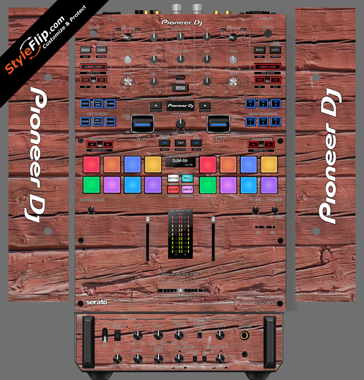 Old Wood  Pioneer DJM S9