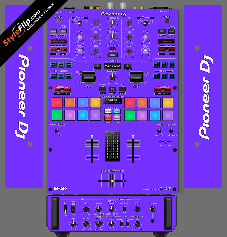 Solid Purple Pioneer DJM S9