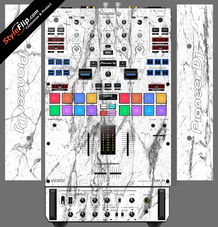 White Marble Pioneer DJM S9