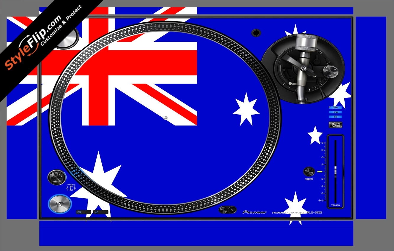 Australian Flag  Pioneer PLX-1000