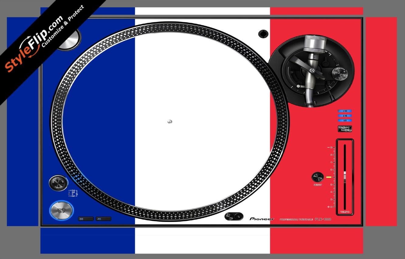 French Flag  Pioneer PLX-1000