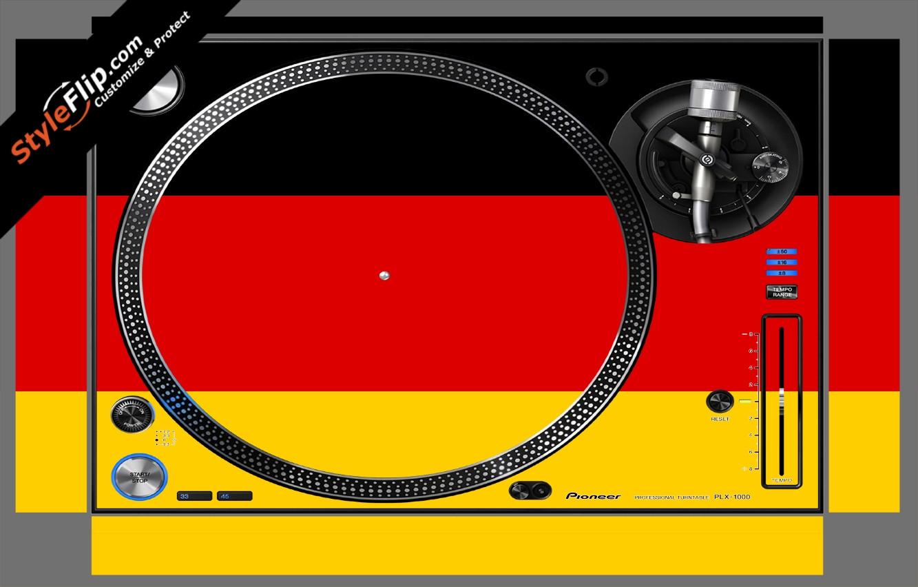 German Flag  Pioneer PLX-1000