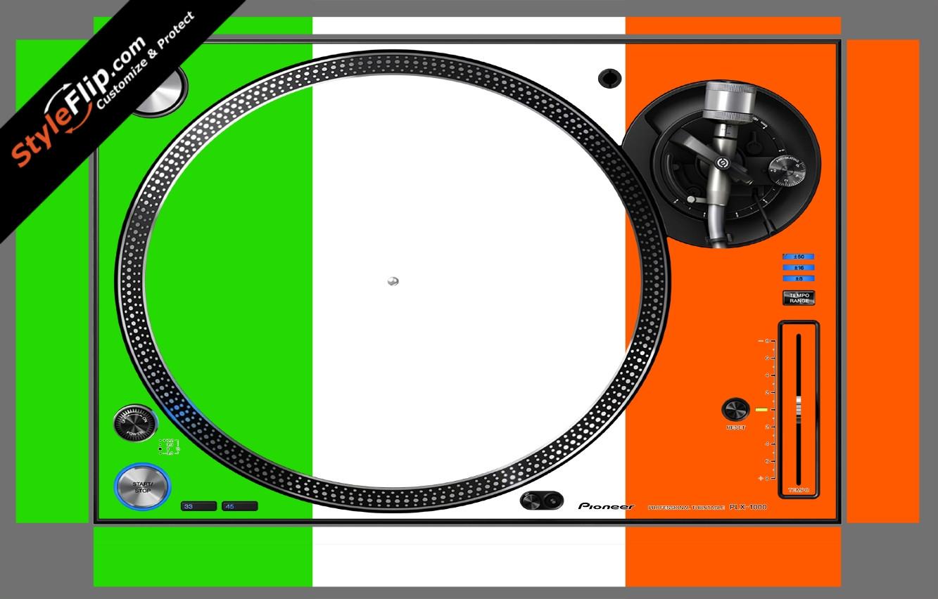 Irish Flag  Pioneer PLX-1000