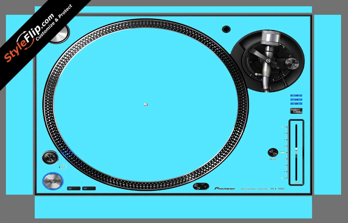 Solid Blue Pioneer PLX-1000