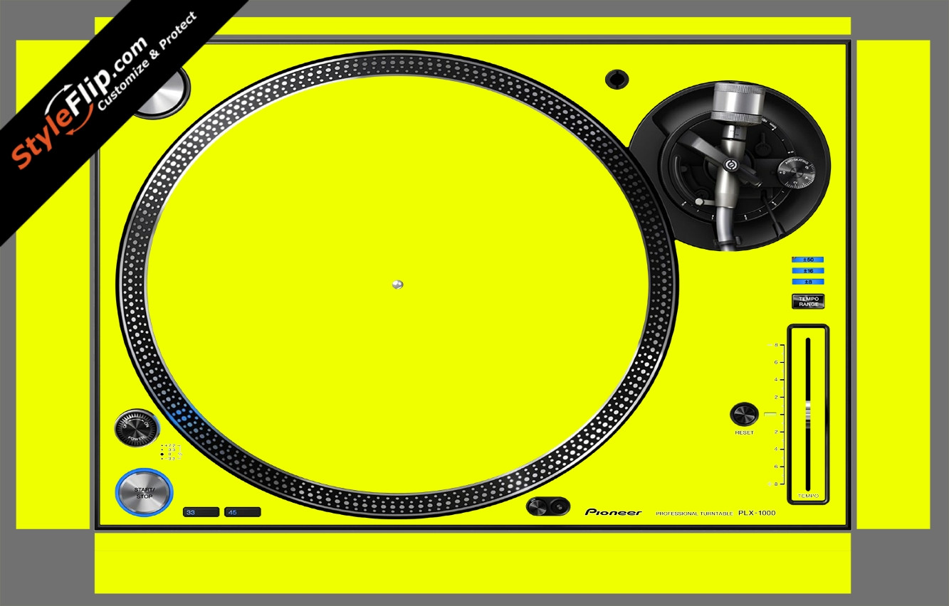 Solid Yellow Pioneer PLX-1000
