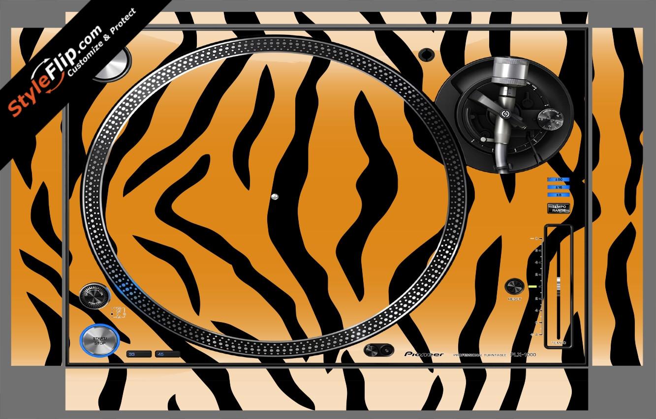 Tiger Stripes Pioneer PLX-1000