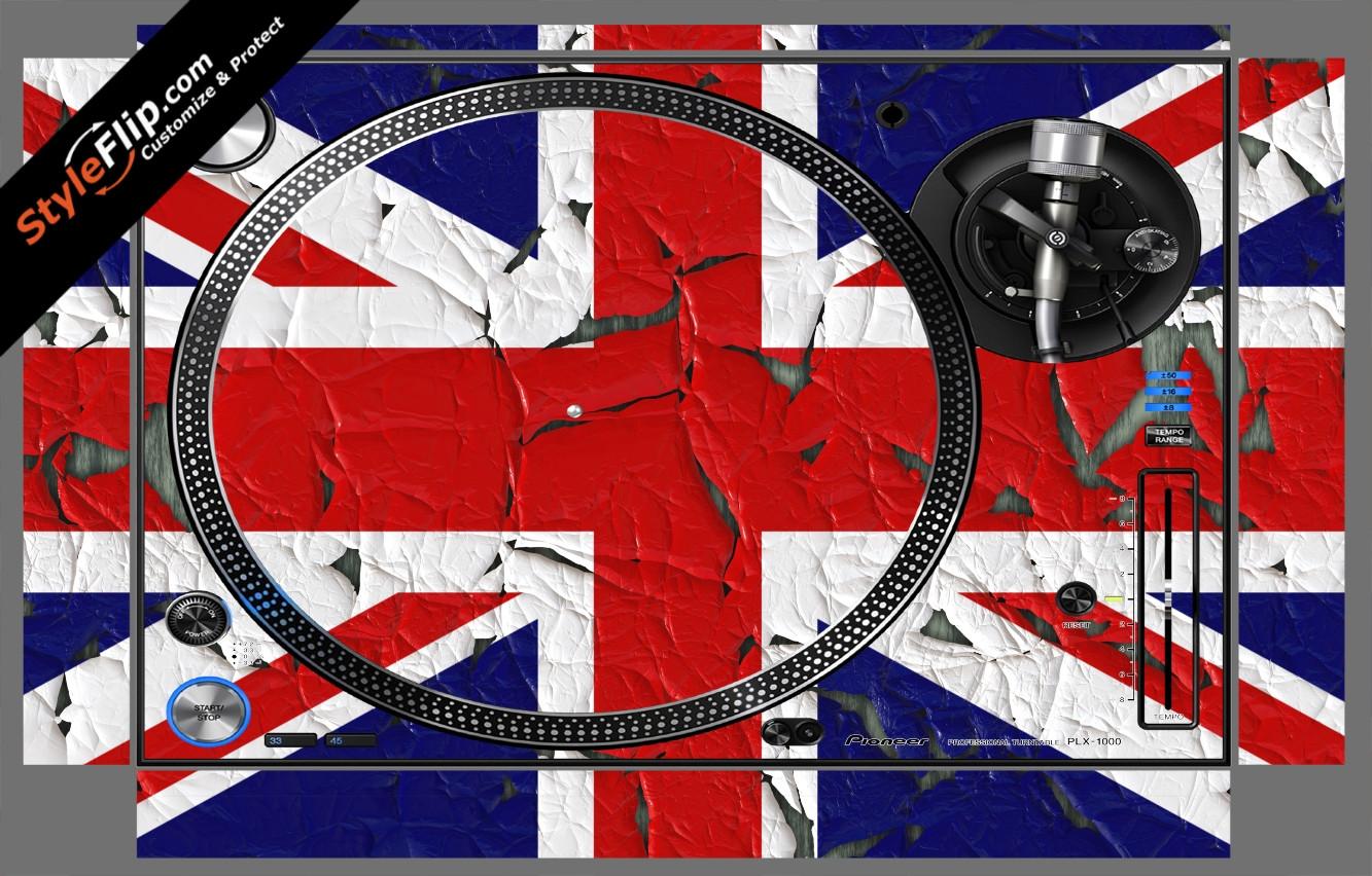 United Kingdom Flag 2  Pioneer PLX-1000