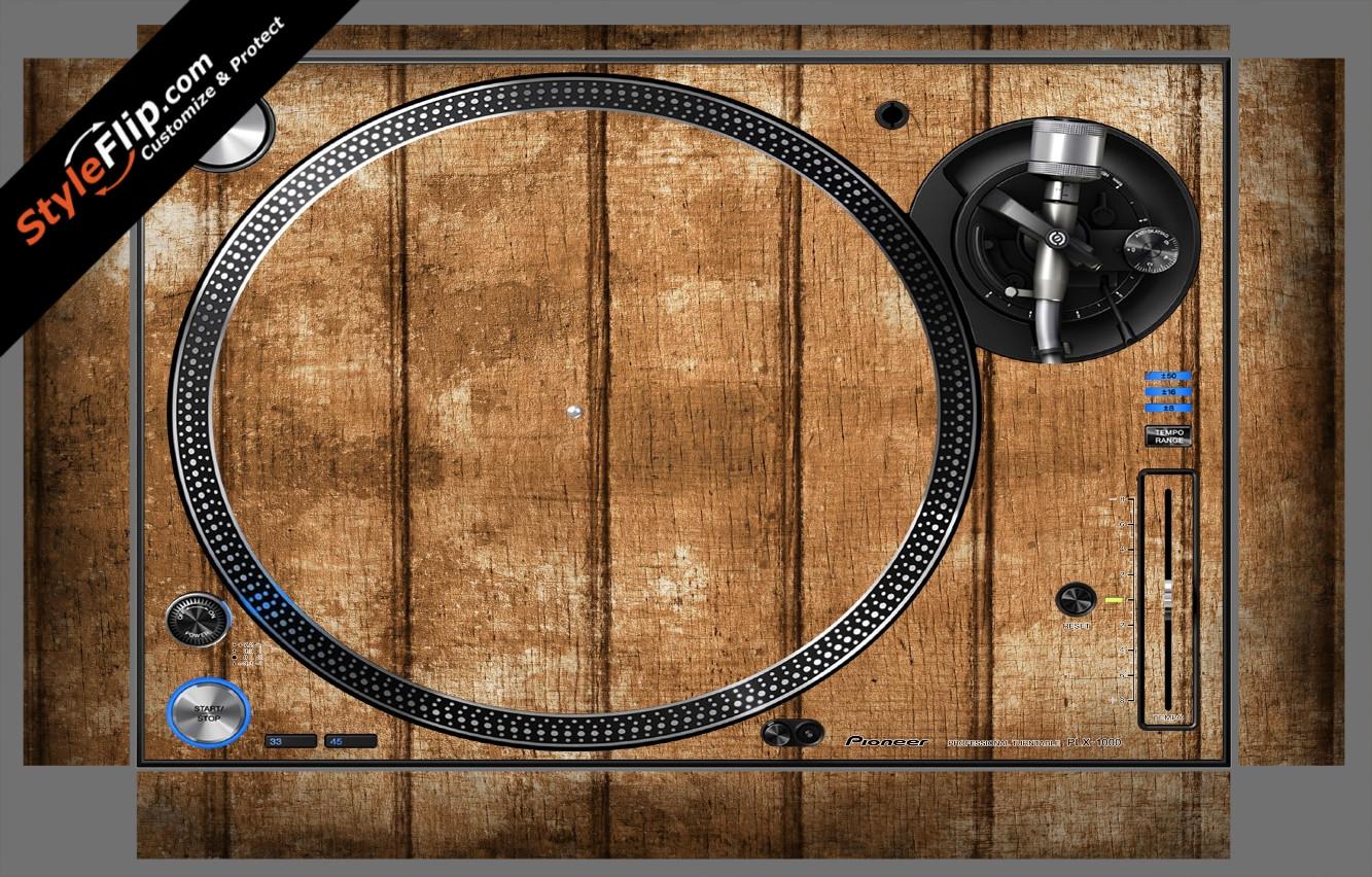Wood Panels  Pioneer PLX-1000