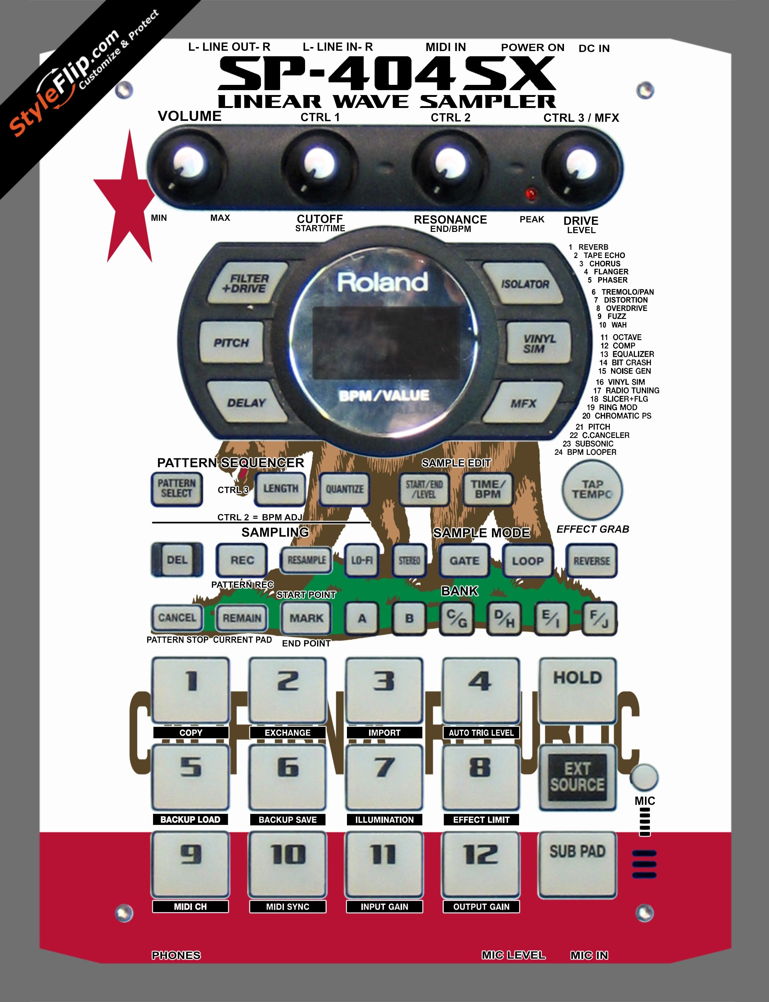 Cali Love Roland SP-404 SX