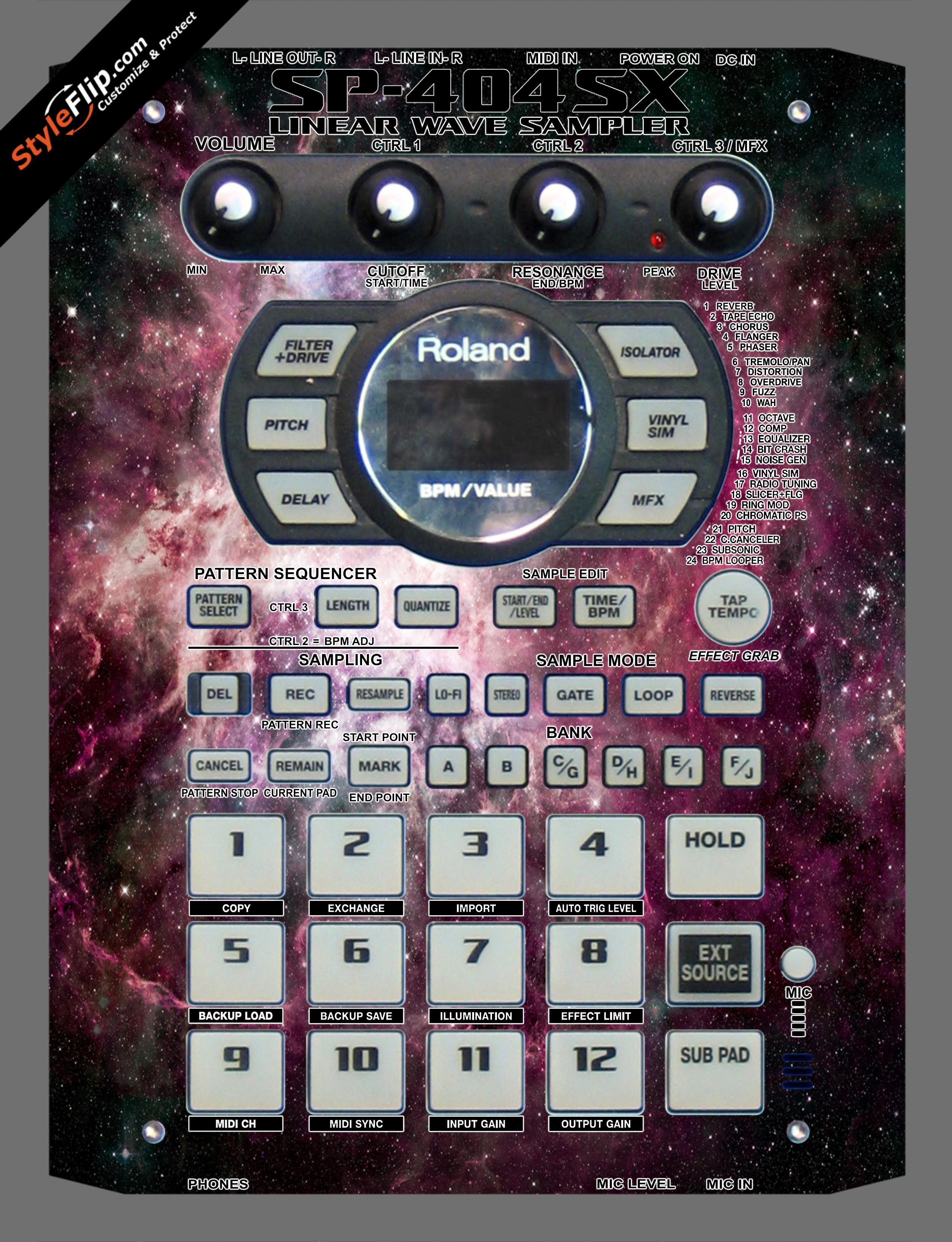Cosmic  Roland SP-404 SX