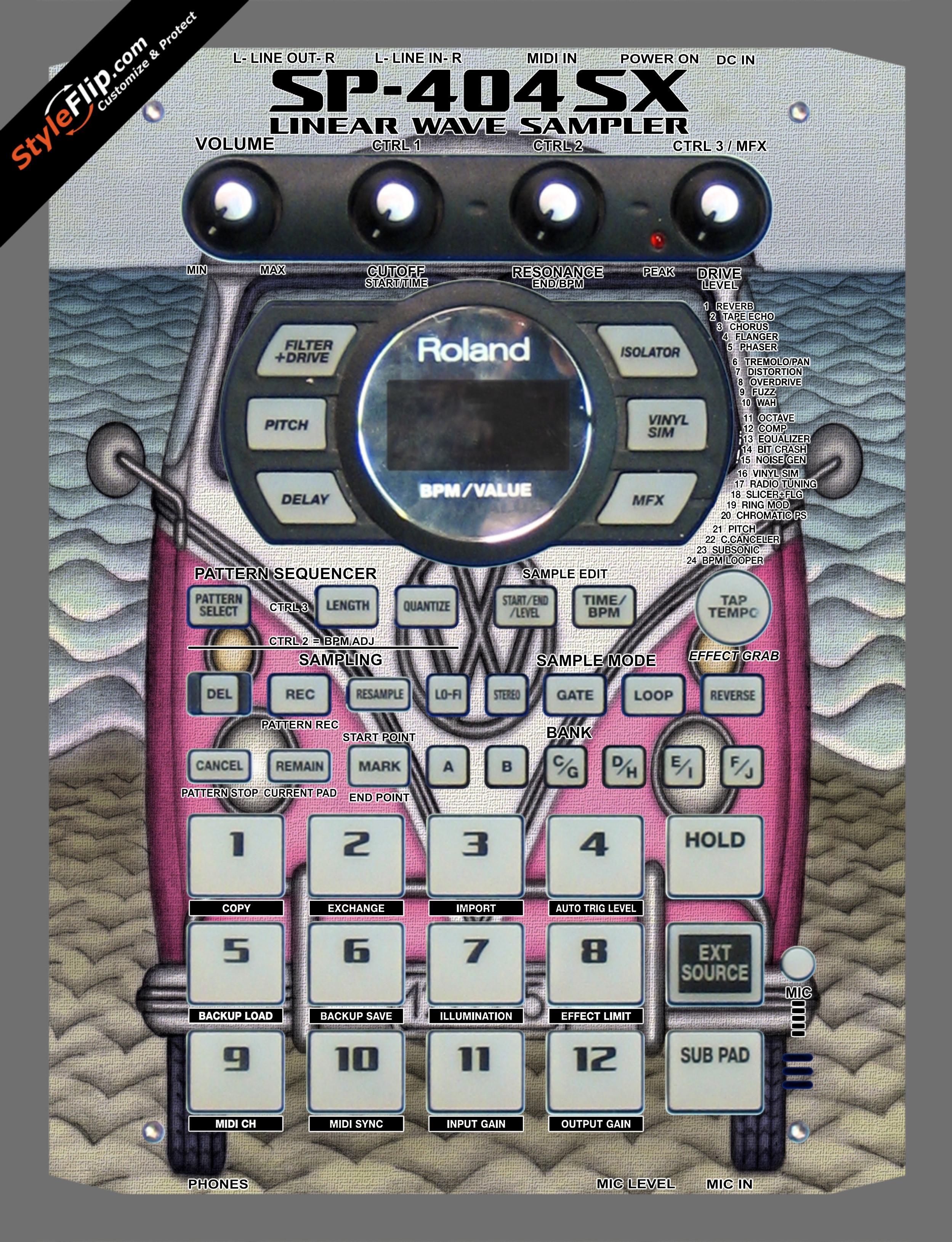 Dream Machine  Roland SP-404 SX