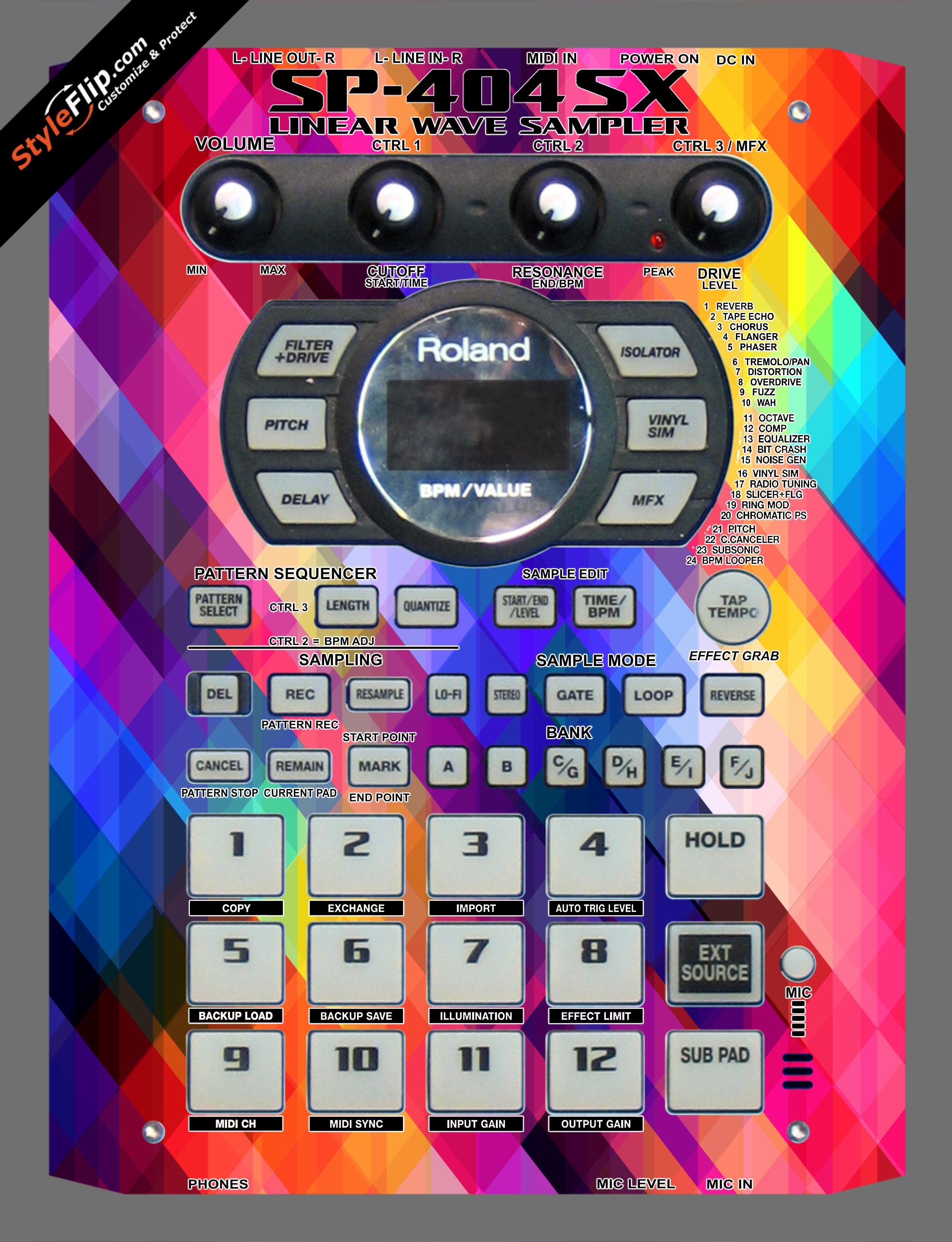Dreamscape Roland SP-404 SX