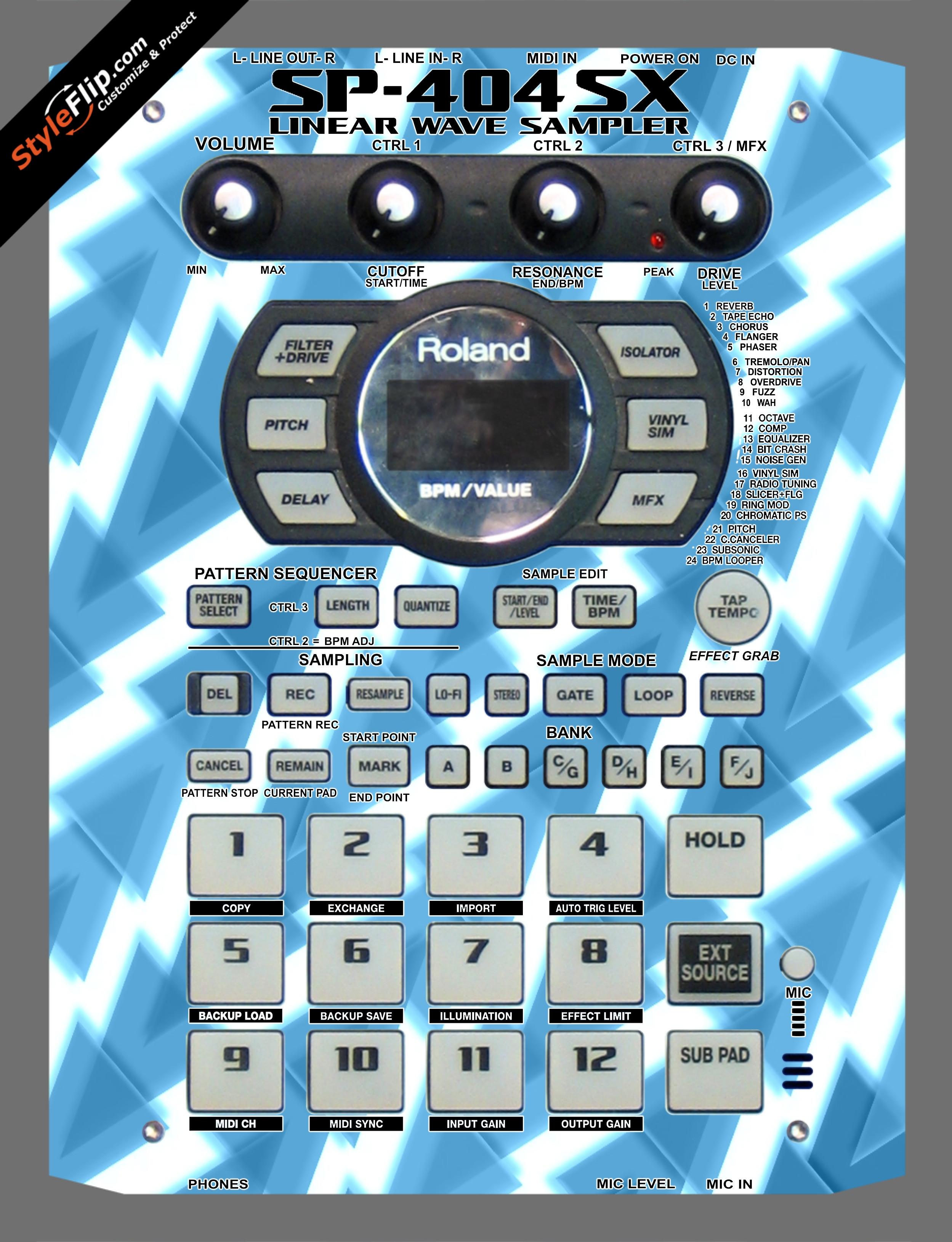 Frozen Roland SP-404 SX