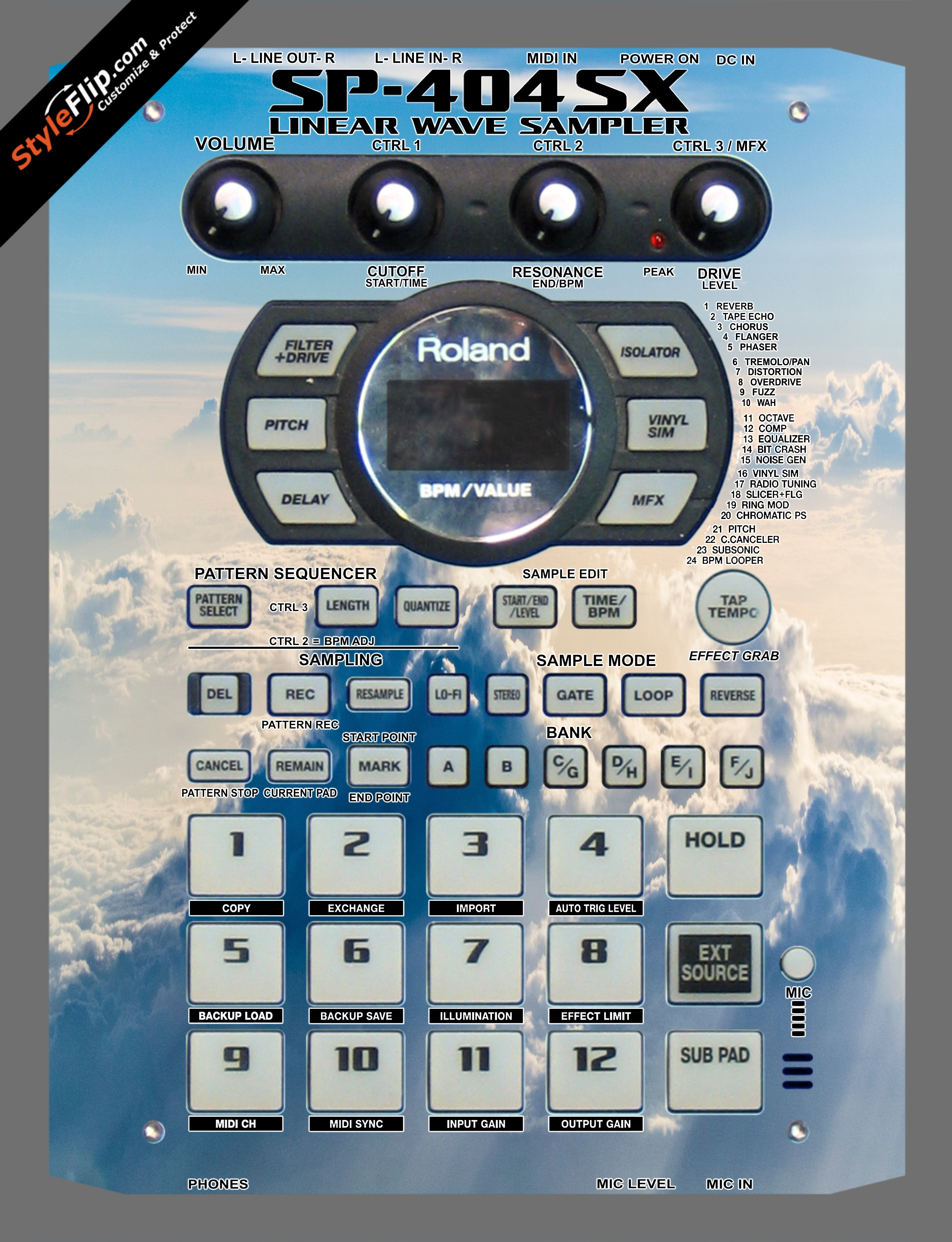 Heavenly   Roland SP-404 SX