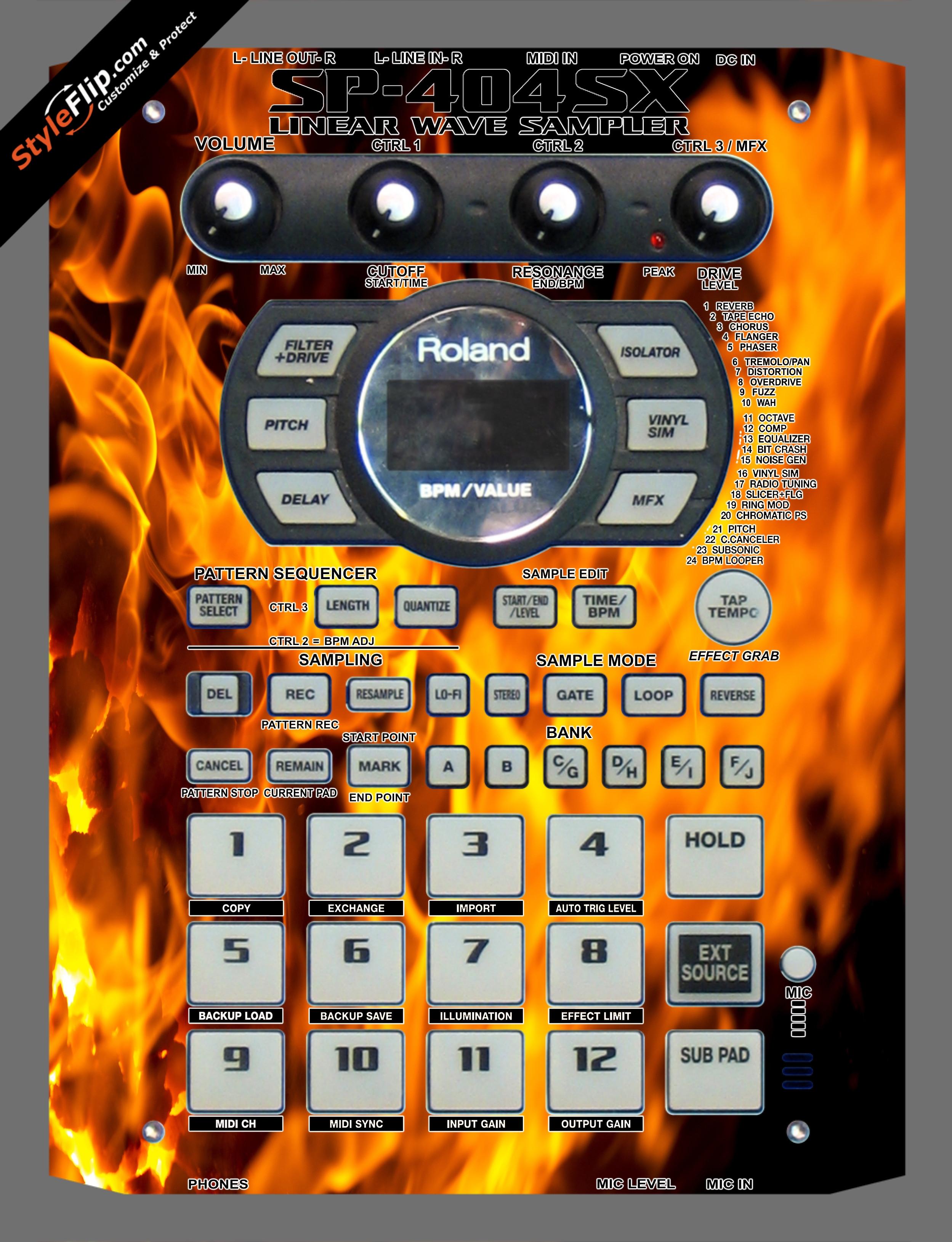 Hot Stuff  Roland SP-404 SX