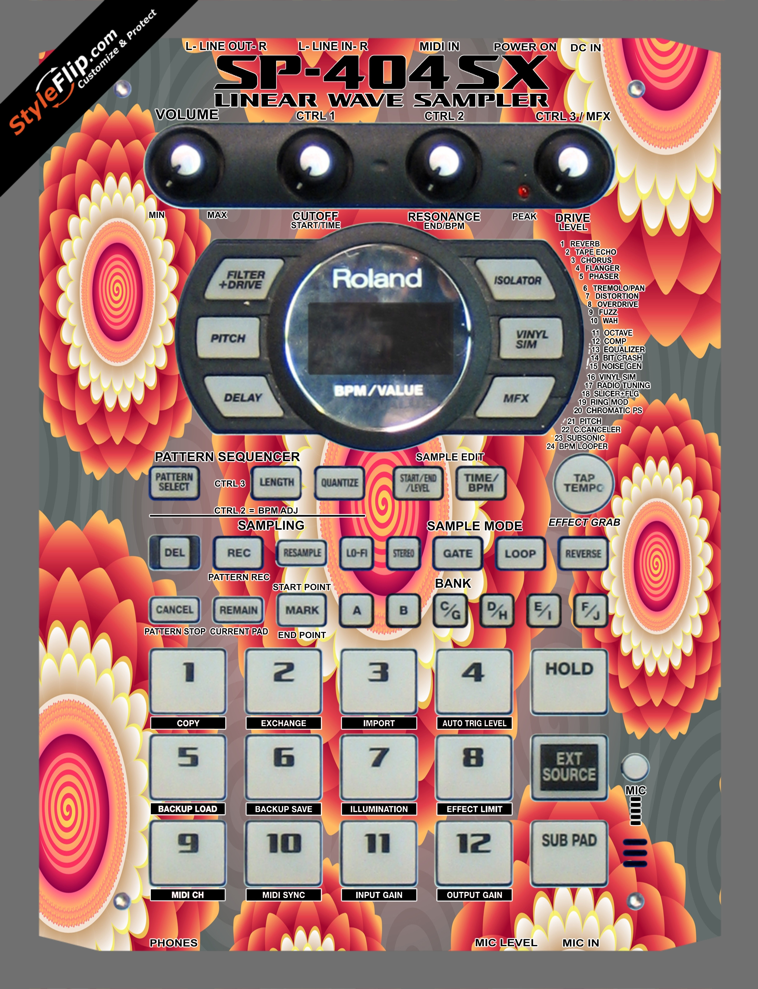 Hypnotic Roland SP-404 SX