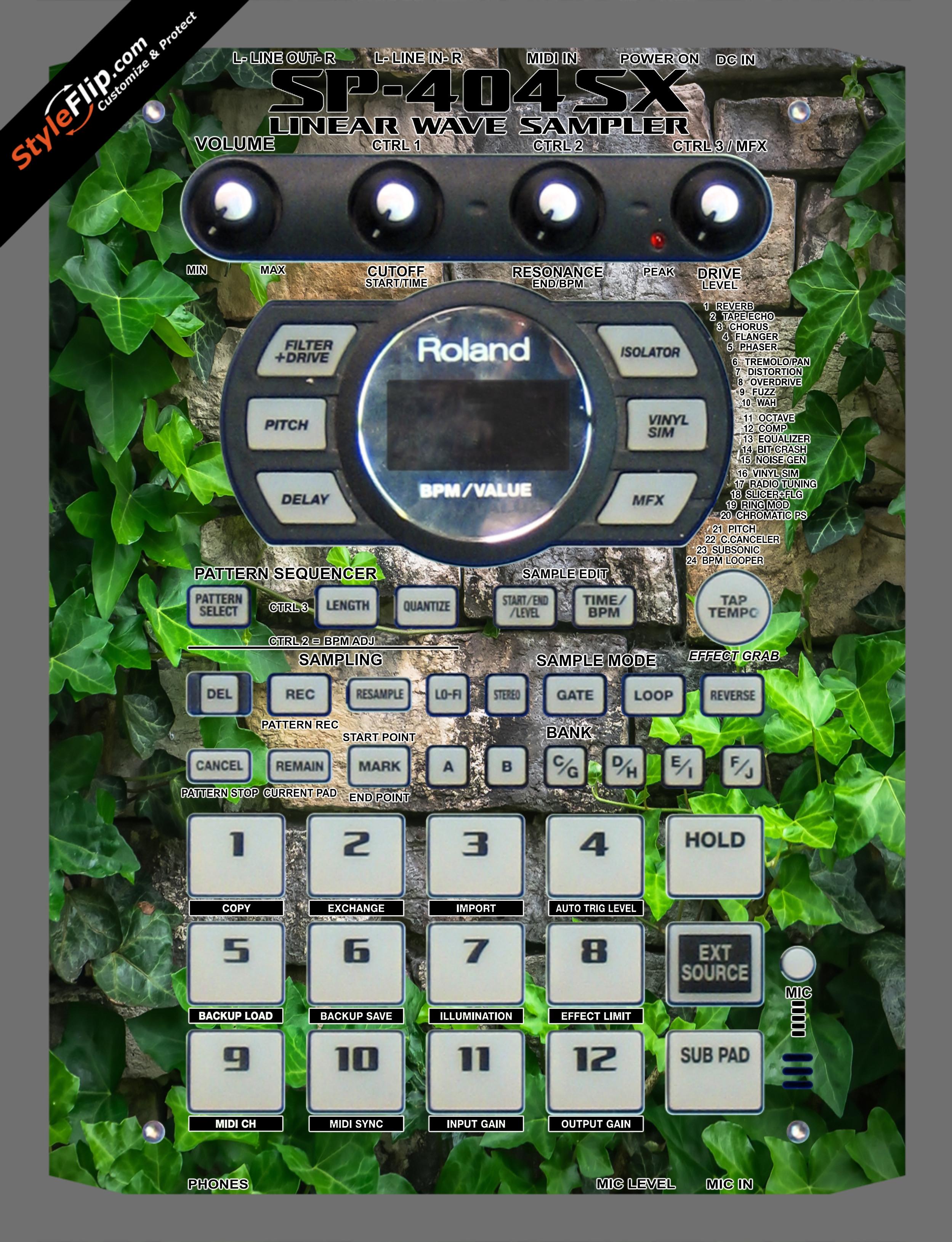 Ivy Roland SP-404 SX