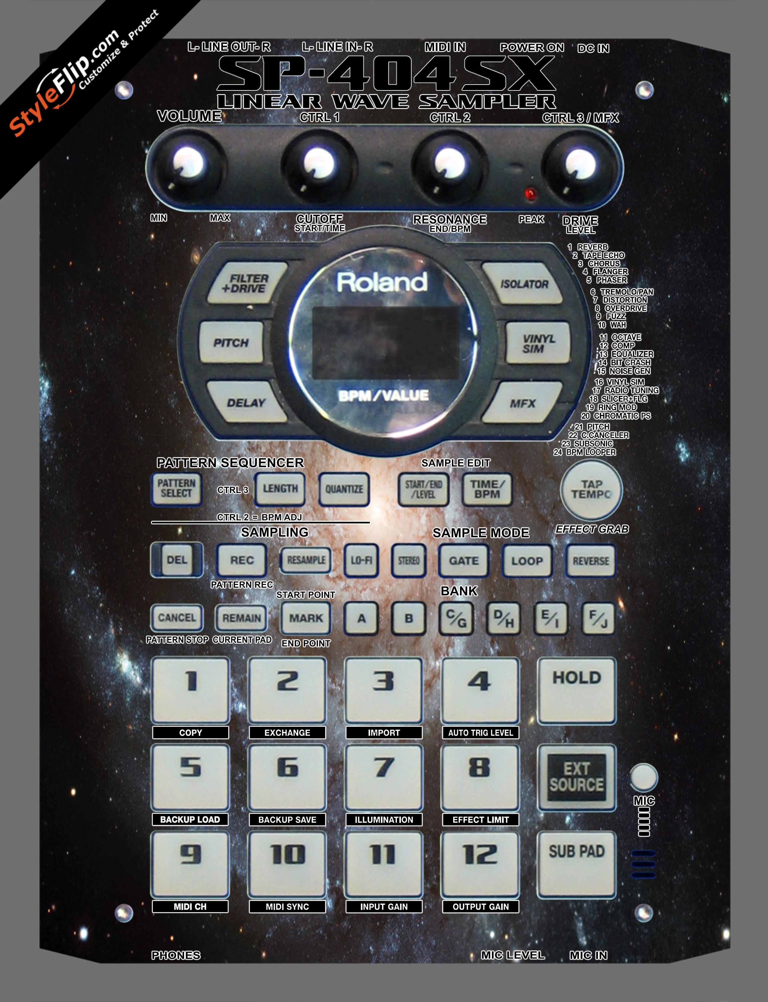 Milky  Roland SP-404 SX