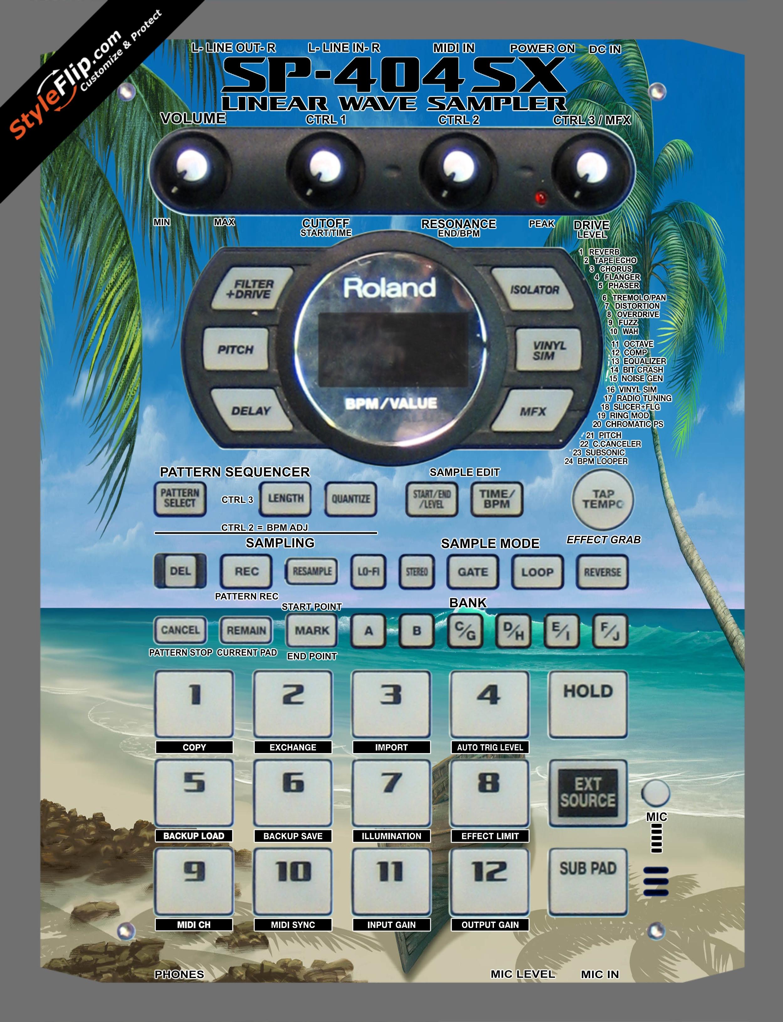 Paradise Lost  Roland SP-404 SX