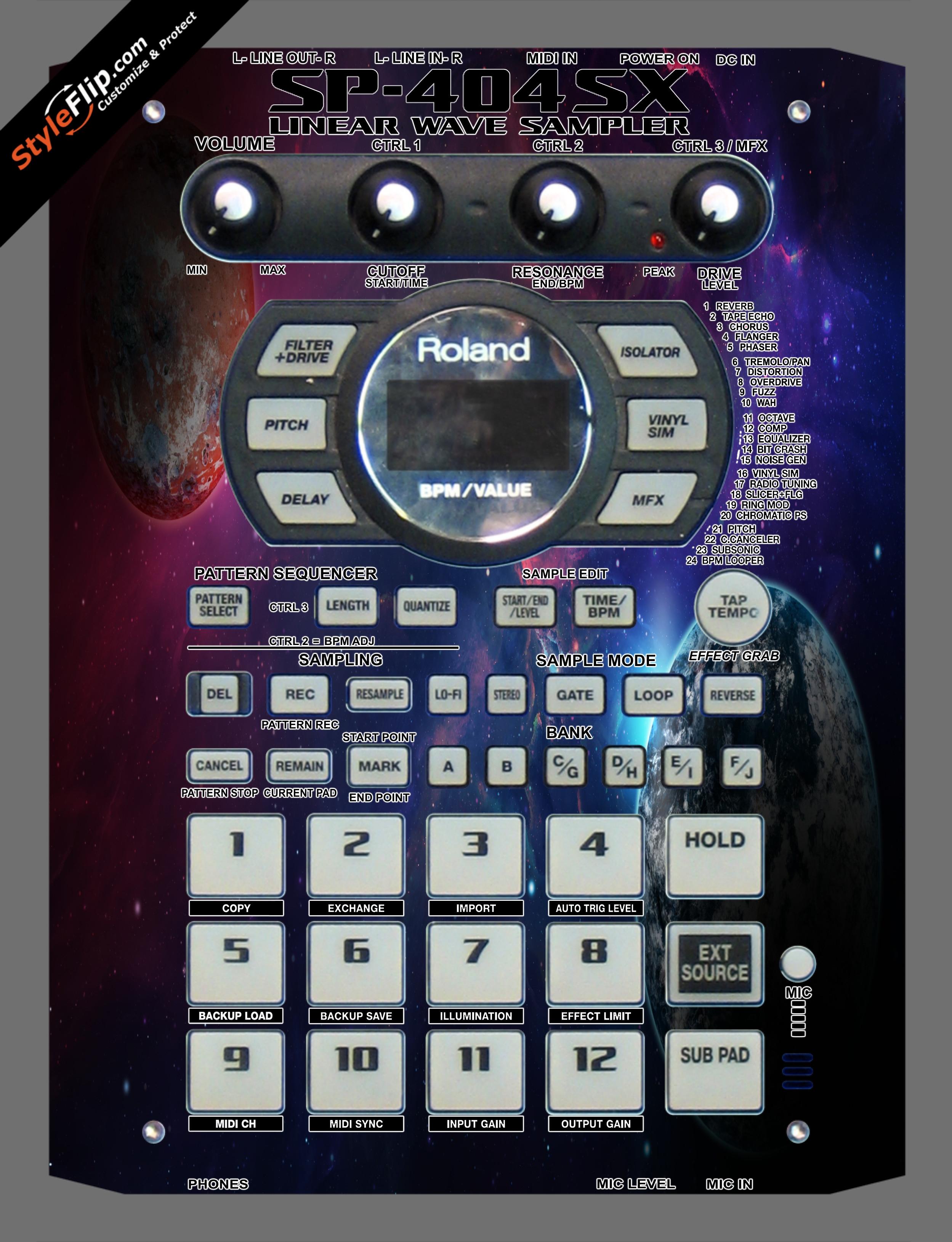 Planetary  Roland SP-404 SX